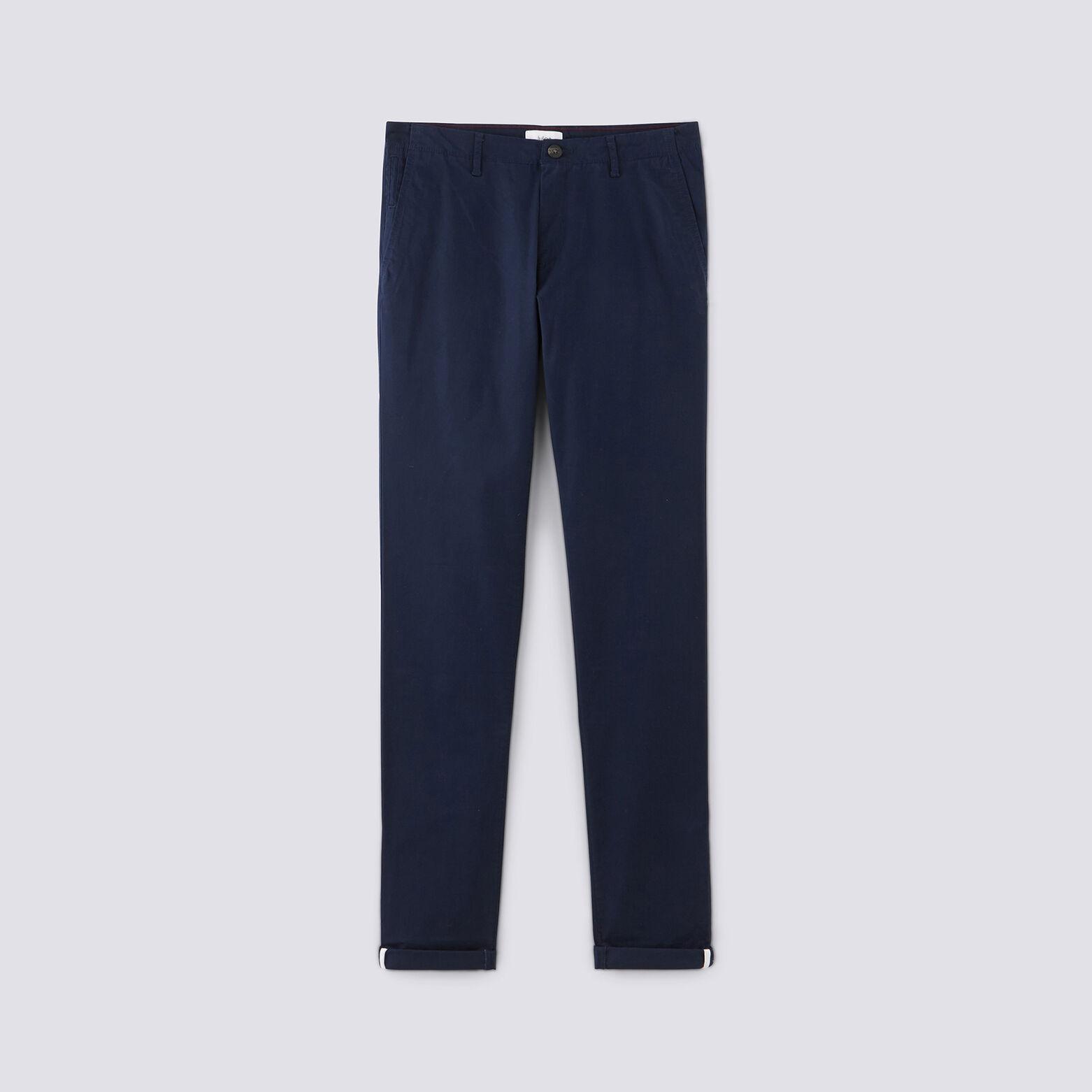 Pantalon chino slim sasha