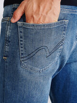 Jean regular 5 poches Double Stone Wash