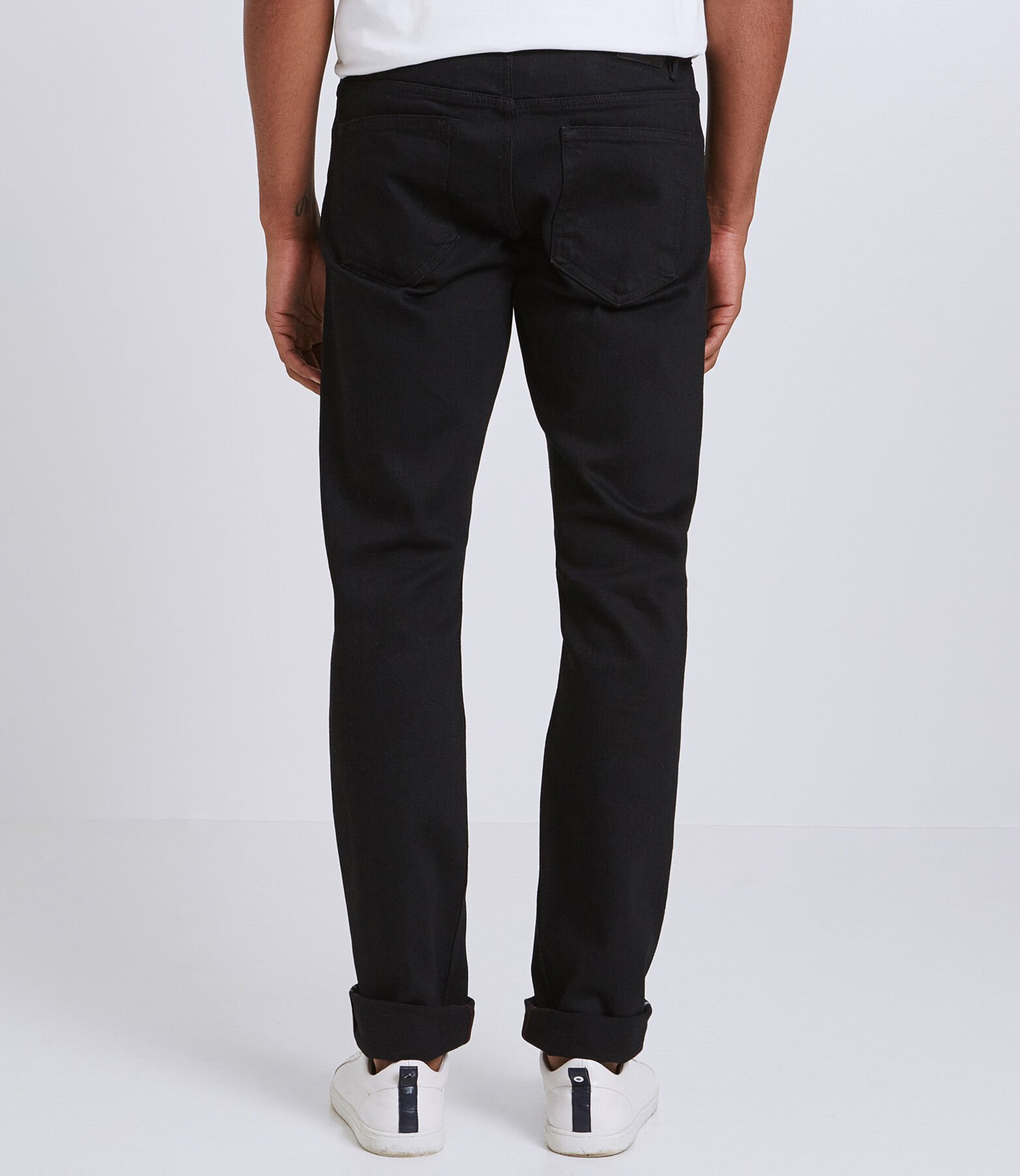 Jean Straight Selvedge Noir