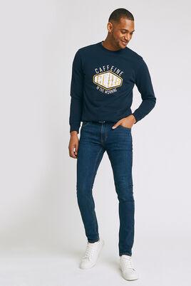Jeans skinny, blauw