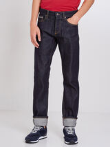 Straight jeans, selvedge raw