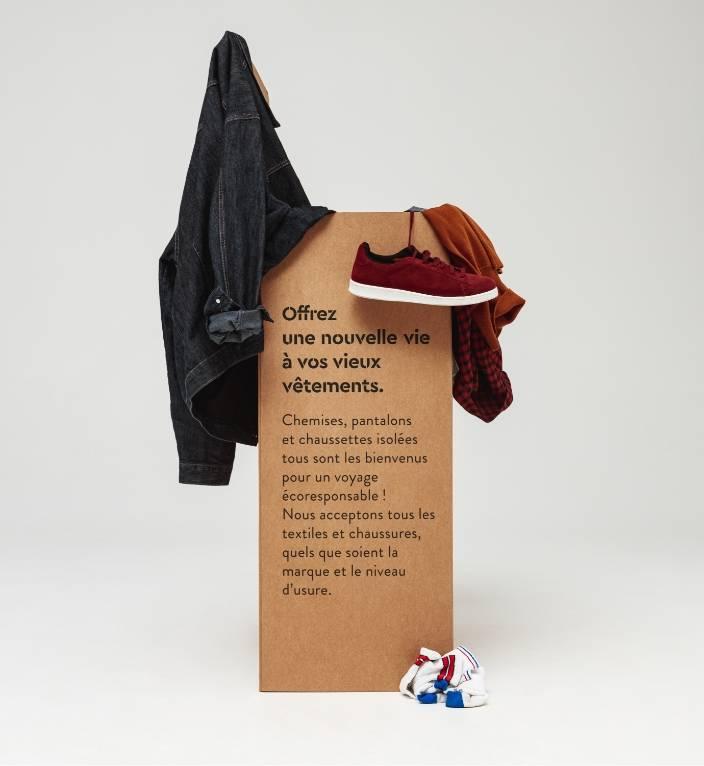 Offrez une nouvelle vie à vos vieux vêtements