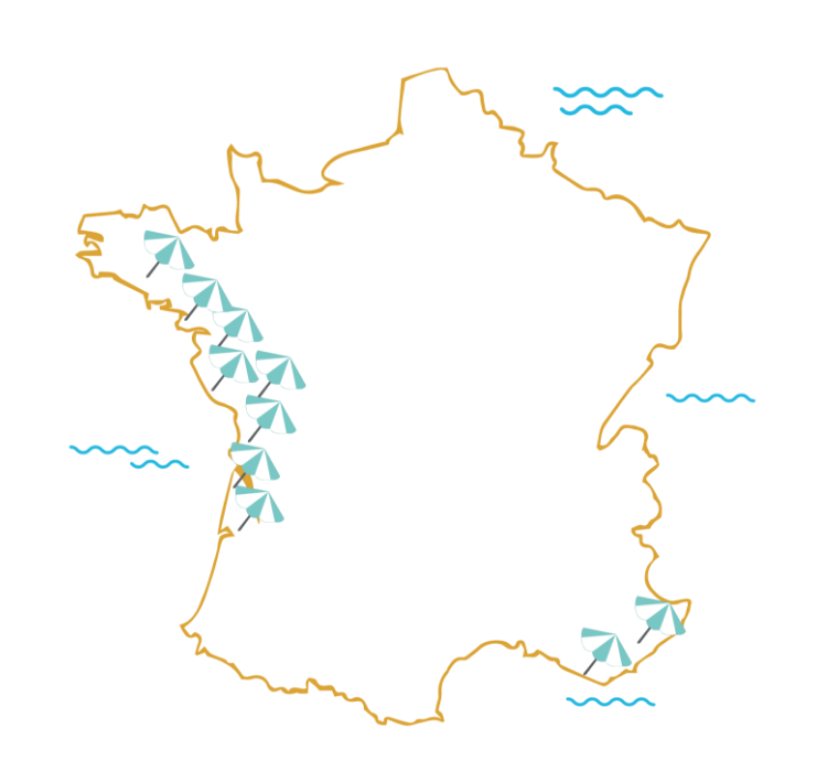 Carte des Jules plage