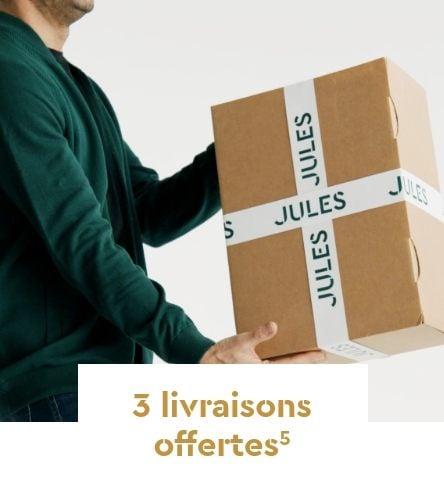 3 livraisons offertes