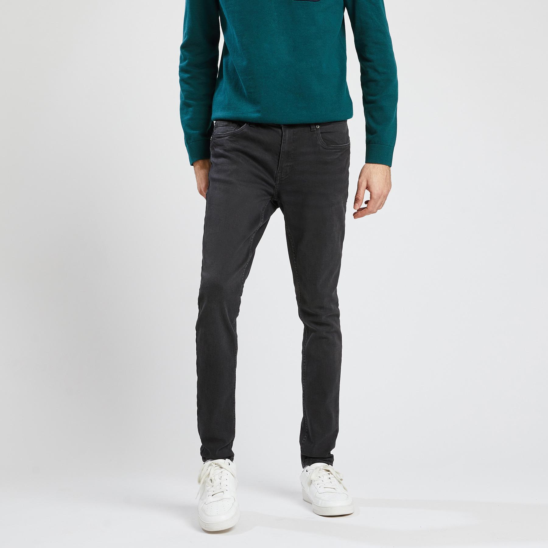 Jean skinny #Max  noir Noir Homme