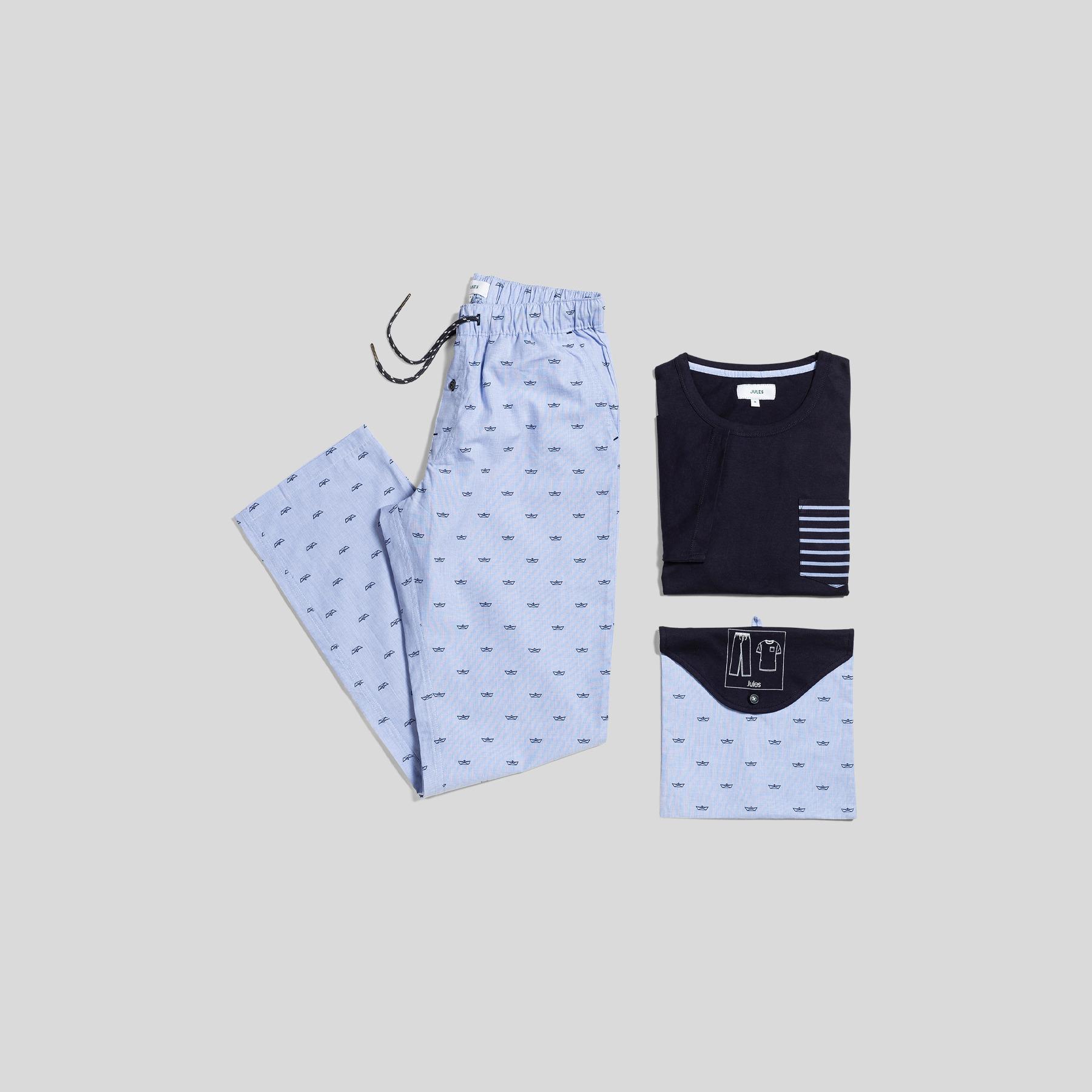 Pantalon Pyjama Bleu Homme