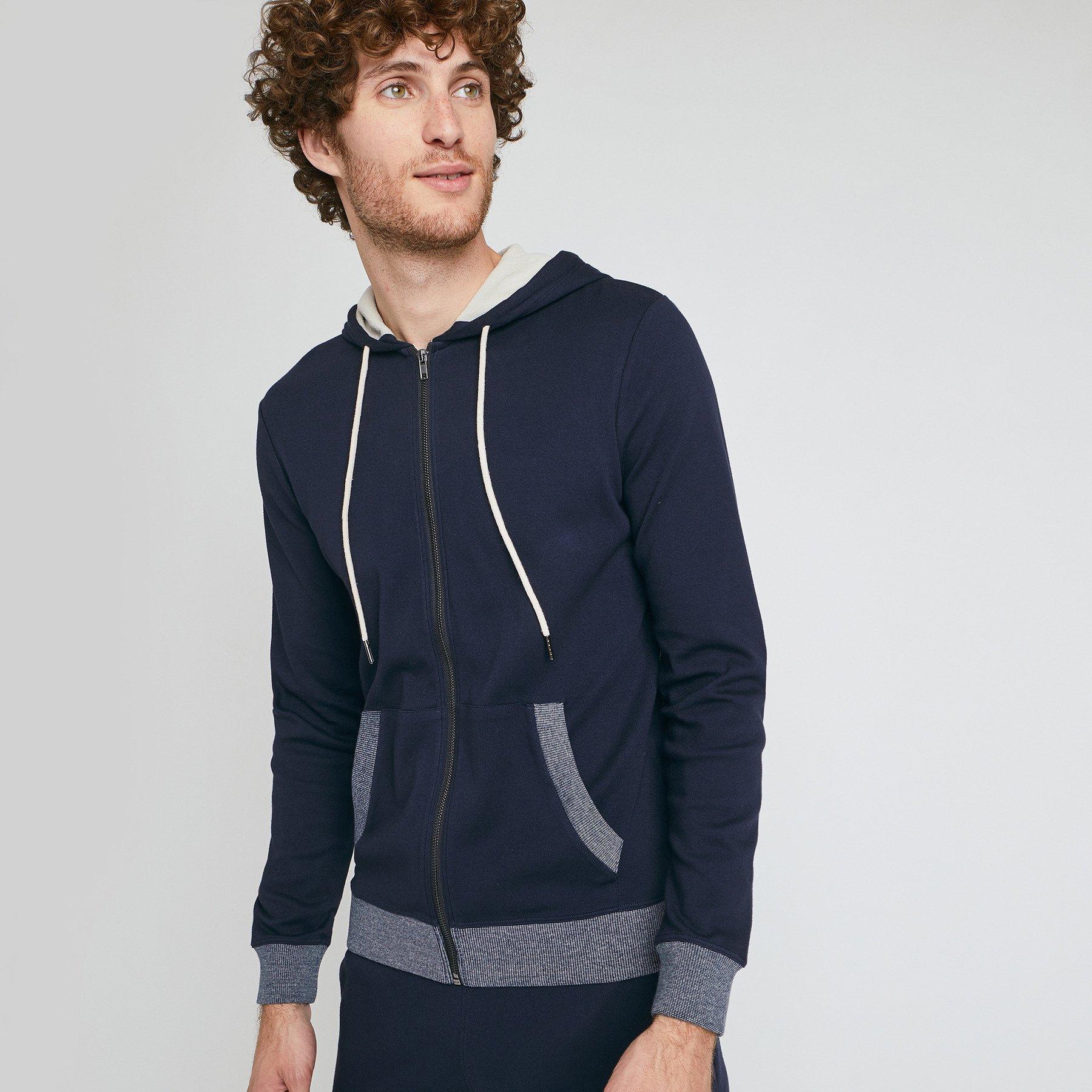 Sweat pyjama Bleu Homme