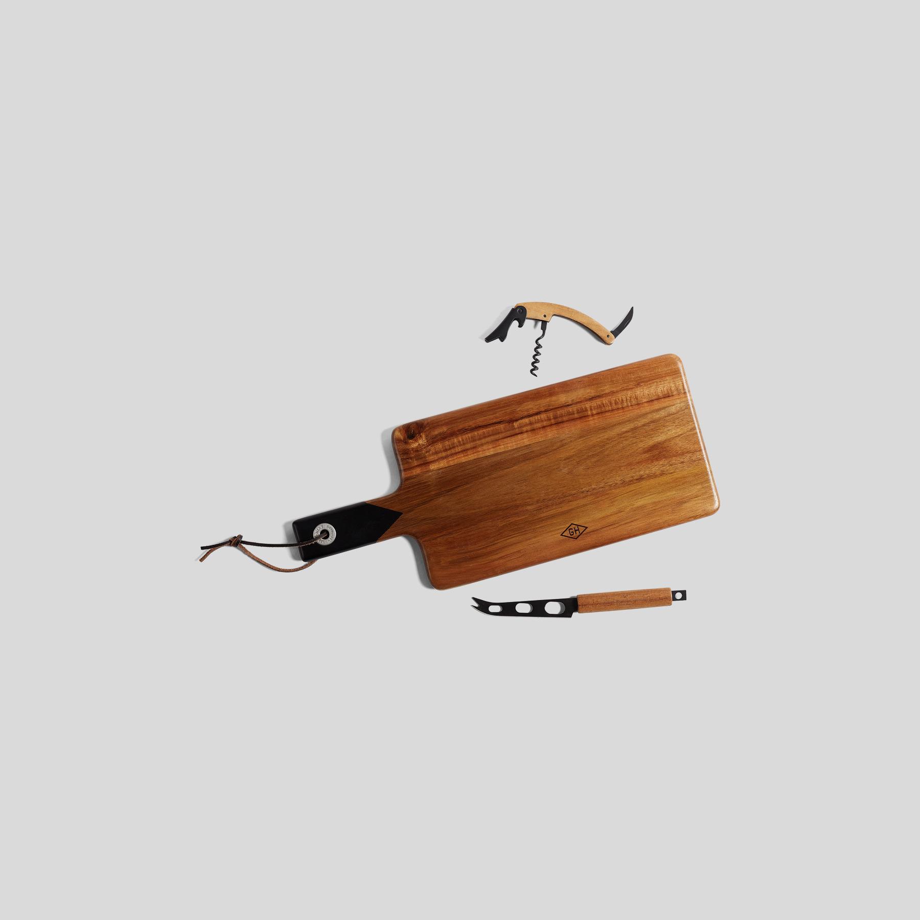 Planche à découper bois Marron Homme